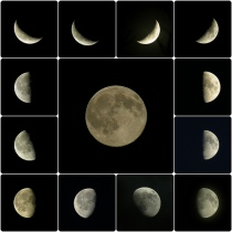 Phases of the Moon [Flickr: OliBac]